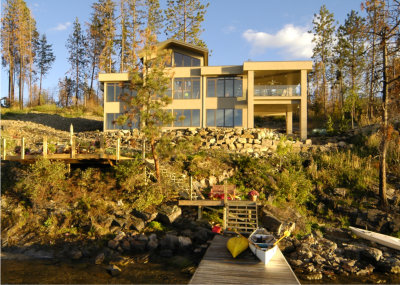 lakefront kelowna home builder